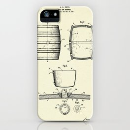 Keg or Barrel-1898 iPhone Case