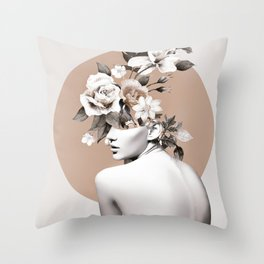 Bloom 8 Throw Pillow