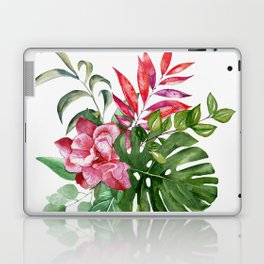 Flower and Leaves 1 Laptop & iPad Skin