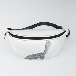Reaching Turtle Fanny Pack