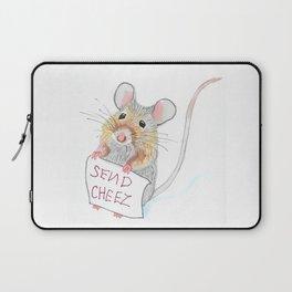 Send Cheese Laptop Sleeve