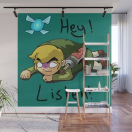 Link & Navi - The Legend Of Zelda Wall Mural
