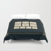 labyrinth Duvet Covers featuring Labyrinth by MacGuffin Designs