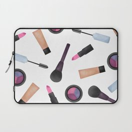 Scattered Makeup Pattern Laptop Sleeve