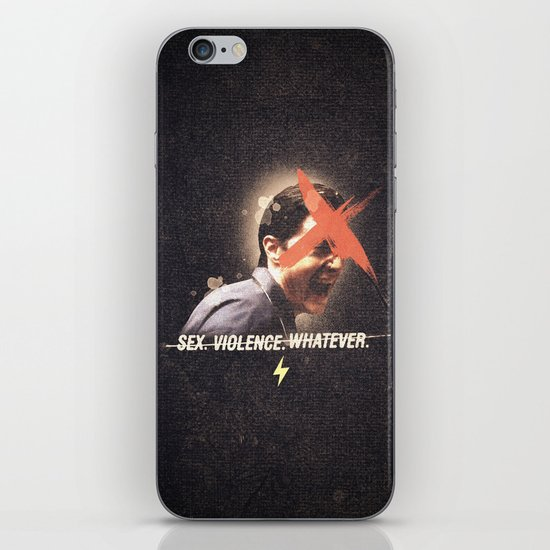 Black Mirror | Dale Cooper Collage iPhone & iPod Skin