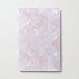 Experimental Triangle III Metal Print