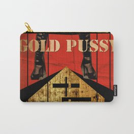 GOLD PUSSY Carry-All Pouch