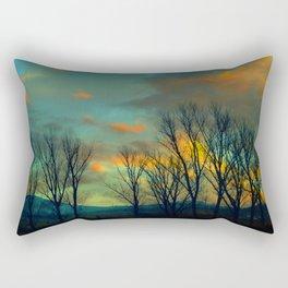 Light my sky Rectangular Pillow