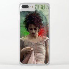Merry Christmas, Marla Singer Clear iPhone Case