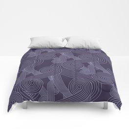 Quarian Swirls Comforters