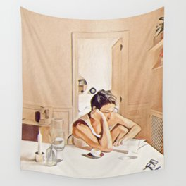 Je Pense a toi Wall Tapestry