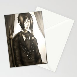 Sebastian Michaelis - The Watchdog's Butler Stationery Cards