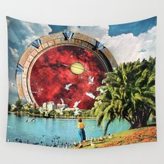 Stargate Installation Wall Tapestry