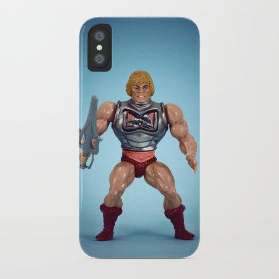 He-Man Battle Damage  iPhone Case
