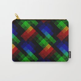 Abstract grunge pattern Carry-All Pouch
