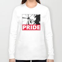 pride Long Sleeve T-shirts featuring Pride by TxzDesign