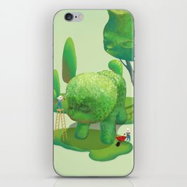 The Topiary Dog iPhone Skin