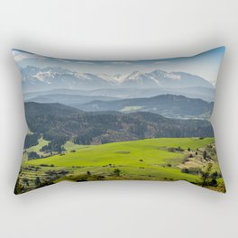 Tatry Poland Landscape Rectangular Pillow