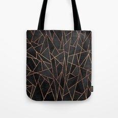 Shattered Black / 2 Tote Bag