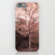 Vintage Barn Autumn Fall Gothic Raven Nature iPhone 6s Slim Case