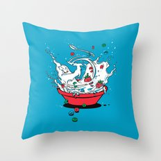 Cereal Killa Throw Pillow