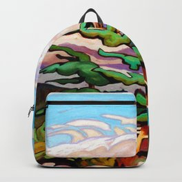 Juniper Islet by Amanda Martinson Backpack