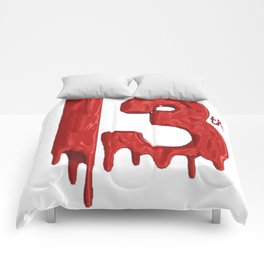 TATTOO Halloween The 13th of Friday tshirt Comforters