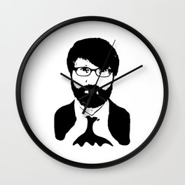 chuck klosterman Wall Clock