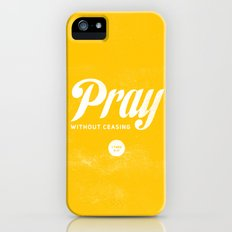 Pray Without Ceasing iPhone (5, 5s) Slim Case