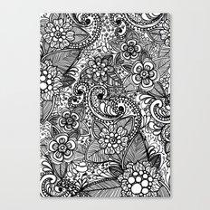 Flower Fountain Canvas Print