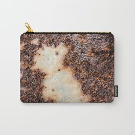 Cool brown rusty metal texture Carry-All Pouch