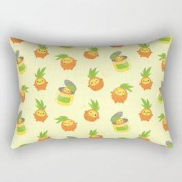 Pineapple NANA pattern Rectangular Pillow