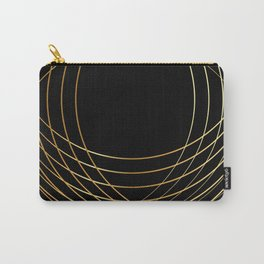 Golden Threads Carry-All Pouch