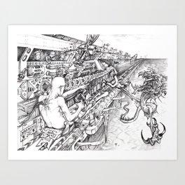 Mindtrigger Art Print