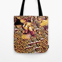 body Tote Bags featuring Body by Andrej Balaz