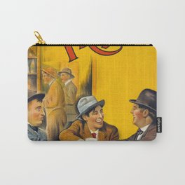 Three Friends Film Poster (1913) Carry-All Pouch