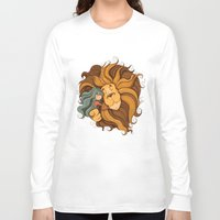 lion Long Sleeve T-shirts featuring Lion by Tatiana Obukhovich
