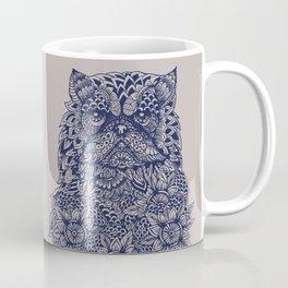 Mandala of Persian Cat Coffee Mug
