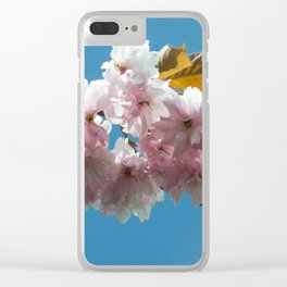 Cheery Blossom Up Close Clear iPhone Case
