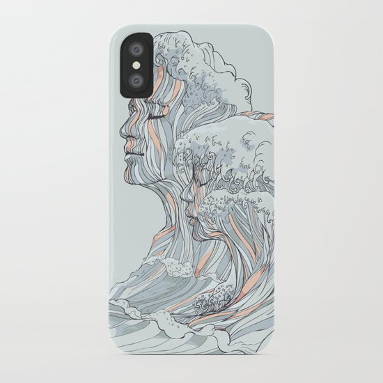 BREATHE DEEPLY iPhone Case