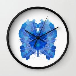 Inkdala XXIII - Ink Blot Wall Clock