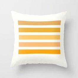 Halloween Colors Art Print Throw Pillow