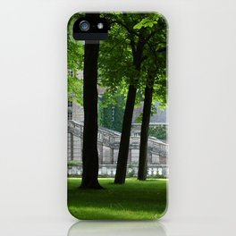 Guarding Trees iPhone Case