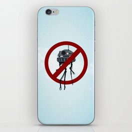Drones are spooky? iPhone Skin