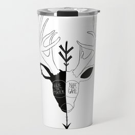 Hate the player not the game Travel Mug
