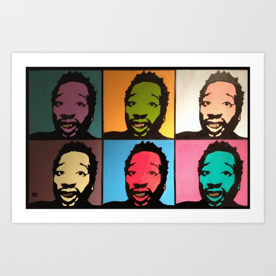 Russell Tyrone Jones Art Print