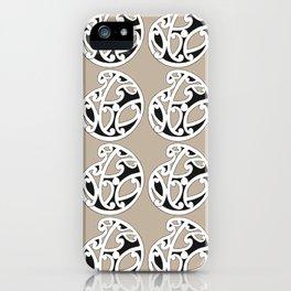 MAD HUE AOTEAROA Tan iPhone Case