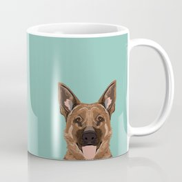 Skylar - German Shepherd gifts for dog people dog lover gifts german shepherd owners perfect gifts Coffee Mug