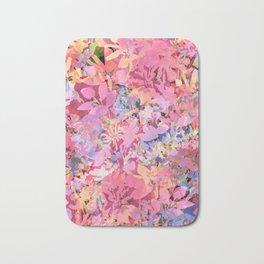 Peach Poppy Garden Bath Mat