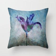 A Misterious Flower Throw Pillow